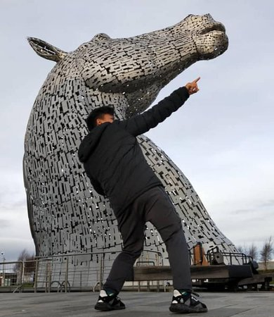 Kelpies and Falkirk Wheel Private Tour for 1 - 4 people from Greater Glasgow: insta moment