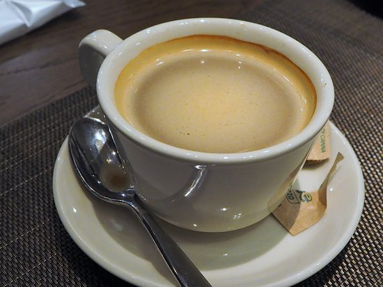 ディナーB 食後のホットコーヒー