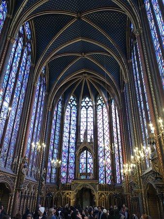 Sainte-Chapelle: the upper chapel