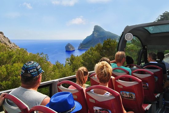 Mallorca: 4-timers tur til Formentor med buss og båt fra Nord-området