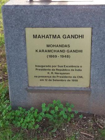 Mahatma Gandhi sculpture