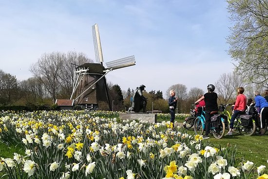 Tour en bicicleta por el paisaje...