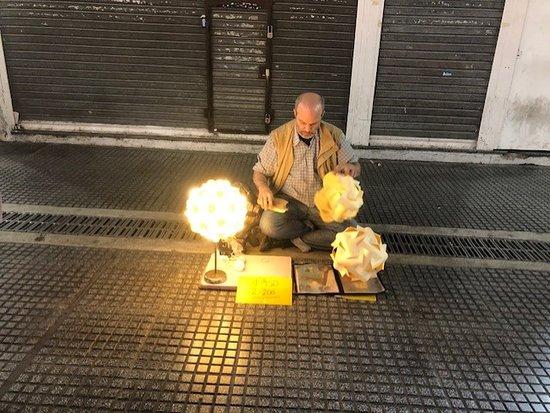 Lavalle Street street seller