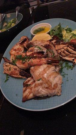 Dinner at Azure