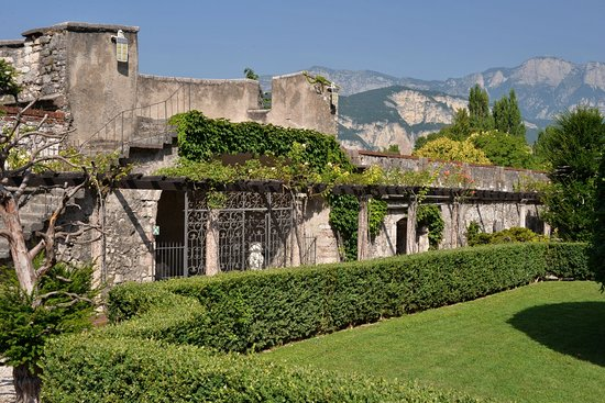 Trento, Italia: Zámecké zahrady