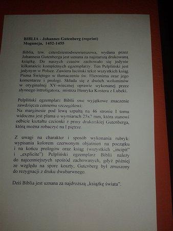 Pelplin, Ba Lan: O Biblii ...