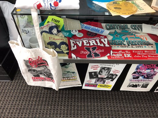Central City, KY: various displays