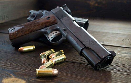 Fabryka Strzelania- Pistolet Colt 1911  .45