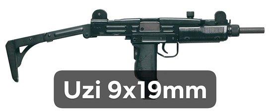 Fabryka Strzelania- Pistolet UZI 9x19mm