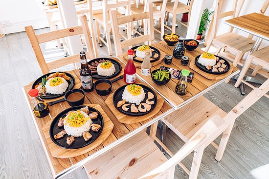 A table of our sizzling dishes.