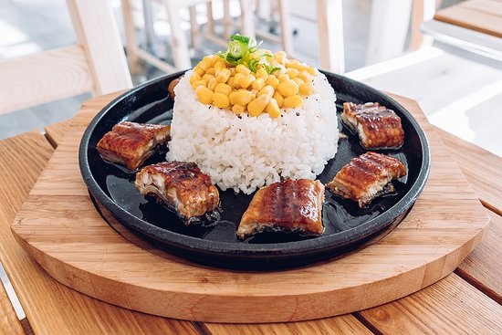 Sizzling Unagi Pepper Rice