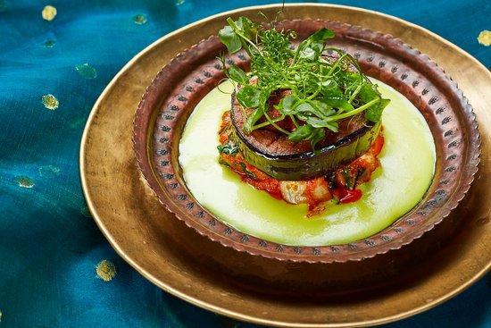 Vegan Grilled Aubergine Korma