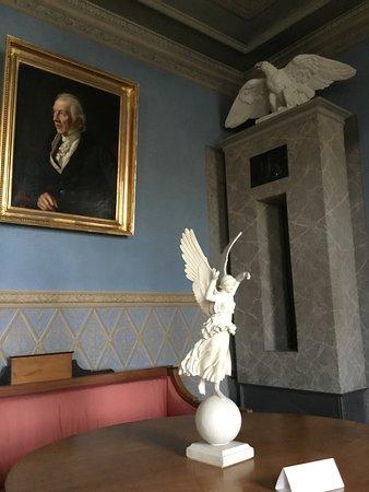 Goethe has good taste in girls. At least the marble ones.