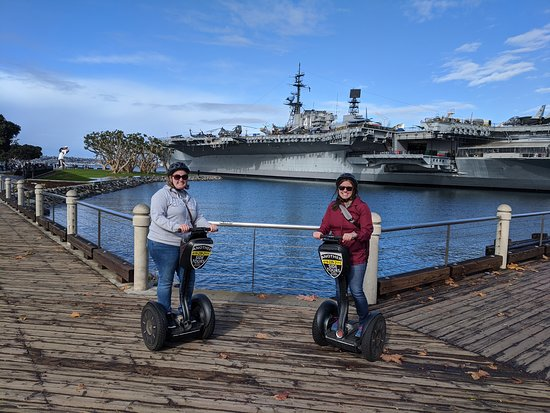 San Diego Early Bird Segway Tour: On the tour!