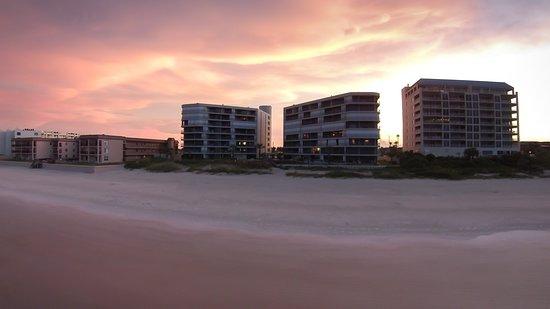 Sunset at Ebb TIde New Smyrna Beach