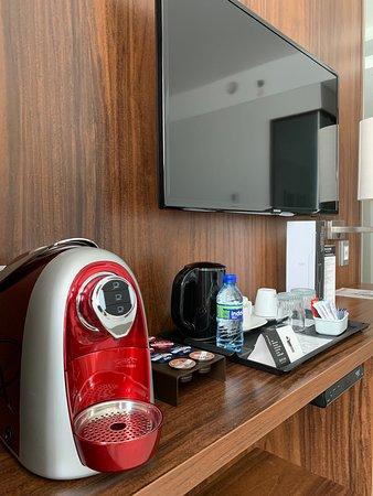 As fotos que tirei durante minha última viagem a Recife, Pernambuco, quando me hospedei no Bugan Hotel. Detalhes do apartamento, do lobby e buffet de café da manhã.