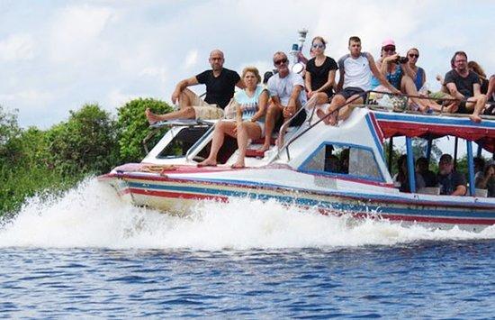 Provincie Siem Reap, Cambodja: Angkor Express Boat in Siem Reap