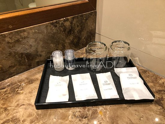 Kamar Mandi Thomson Hotel Huamark Bangkok Thailand