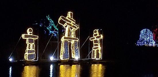 Festival of lights Dufferin Island