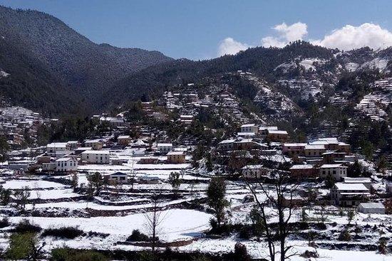 Visite du village près de Katmandou