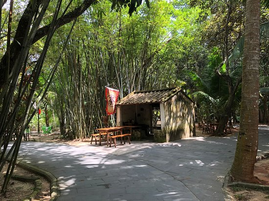 this little hut used to be their rice husking workshop