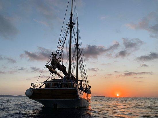 Ibiza, España: Sunset excursions available.