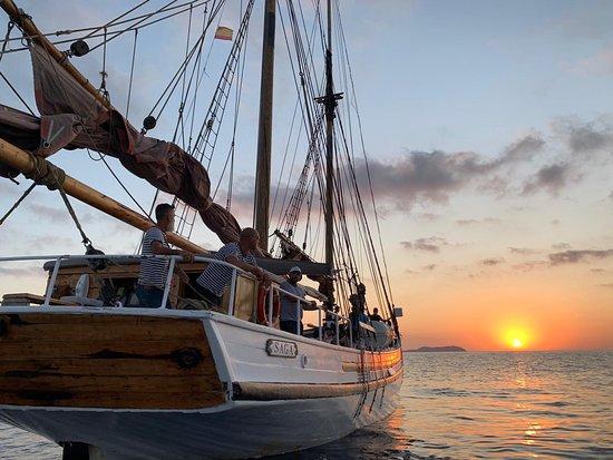 Ibiza, España: Dreamy moments on board Saga
