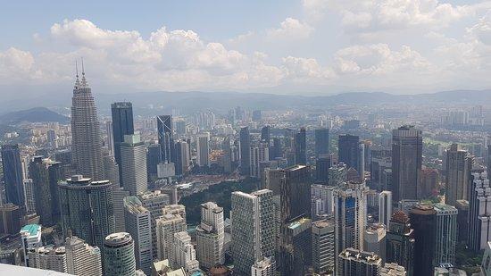 Kaupunkinäkymä KL-Towerista