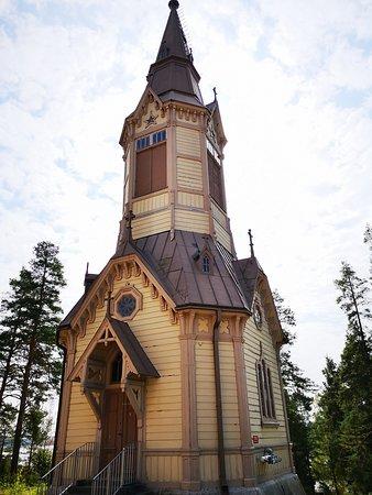 Korpilahti, ฟินแลนด์: Korpilahden Kirkko / kellotapuli