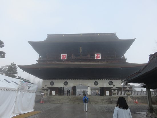 Zenko-ji Temple Sammon Gate