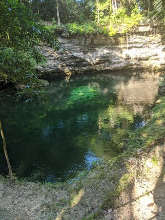 On site Cenote