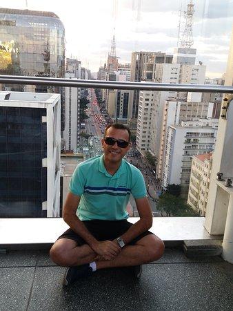 Vista perfeita de São Paulo.