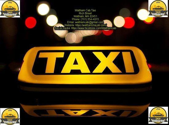 Waltham Cab Taxi provides a taxi-cab service in Waltham, MA and the surrounding cities. Low-priced, safe, convenient and comfortable taxi services. First-class service to Boston and Logan Airport. For best Waltahm Taxi reservation (781) 354-4070.  Waltham Cab Taxi Waltham, MA 02451 Tel:(781) 354-4070 Website: https://walthammacab.com/ Email: walthamcab@gmail.com