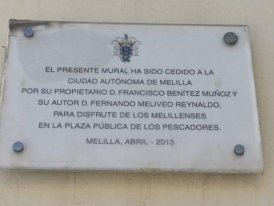 Mural de Fernando Meliveo en honor a los Pescadores