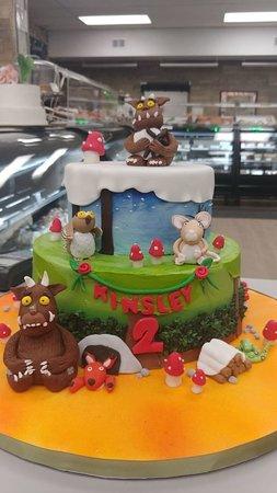 Brilliant Lego Themed Birthday Cake Picture Of Goodies Bake Shop Ltd Funny Birthday Cards Online Fluifree Goldxyz