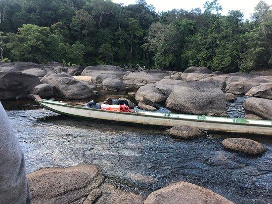 Sipaliwini District, Suriname: Riverboat