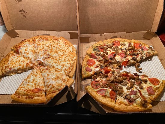 Excellent Pizza For New Years Eve Picture Of Pizza Hut