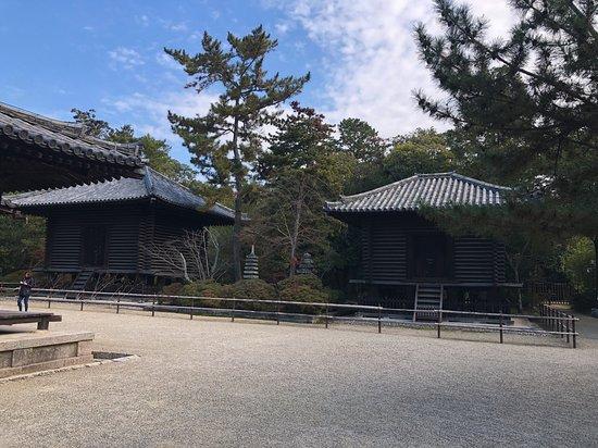 Toshodai-ji Temple Hozo and Kyozo