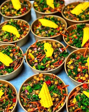 Organic Tri-colour Quinoa Salad