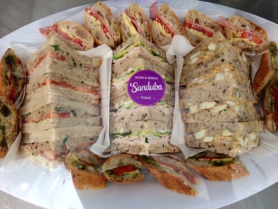 Organic Sandwiches for catering