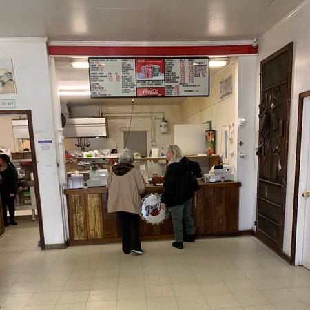 Inside ordering counter