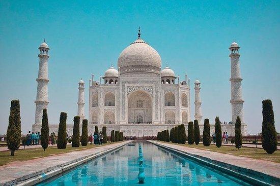 Visite du même jour au Taj Mahal en...