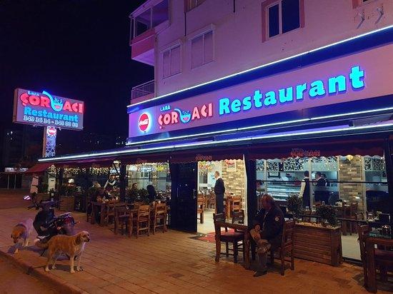 Отличный ресторан с вкусной едой
