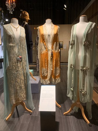Skip the Line: Cleveland History Center Admission Ticket: Three garments from the costume and textile collection.