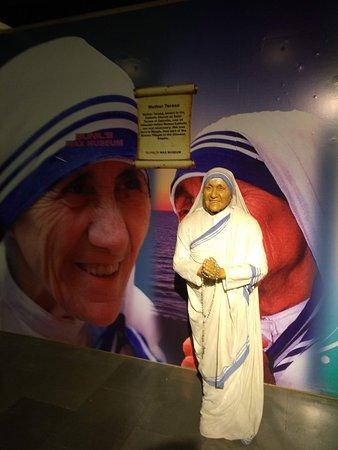Mother Teresa's wax statue