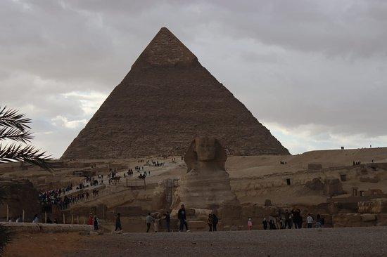 Sfinx und Pyramiden