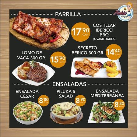Cuatro estilos preparar tu costillar, cual eliges? Como siempre en Piluka's.. aparte del sabor te sorprenderá el tamaño!!  Las mejores carnes de Ávila siempre como tú quieras te las preparemos!!