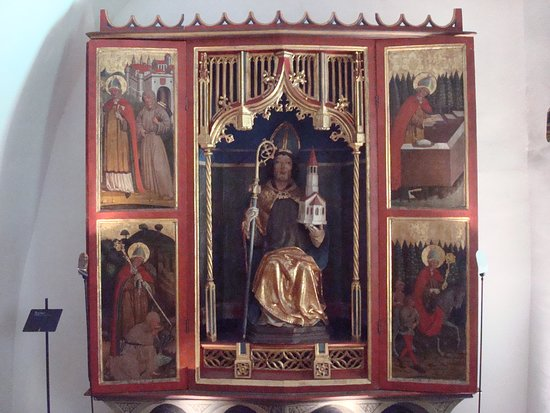 St. Wolfgang altar (gothic winged altar (1470 - 1480)