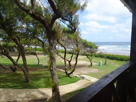 Benab, Barbados: View from the restaurant