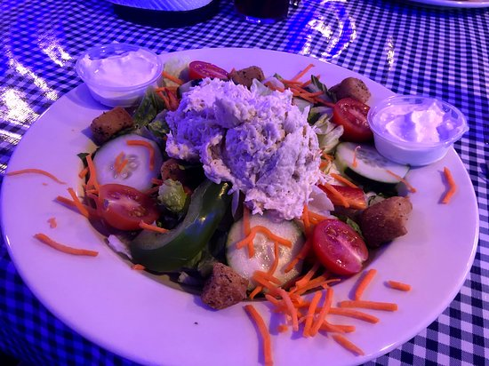 Tall Timbers, MD: Chicken Salad - a local favorite - delicious!